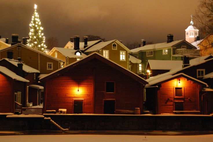 Visit Porvoo Old Town during Christmas time to experience a traditional and idyllic Christmas setting.