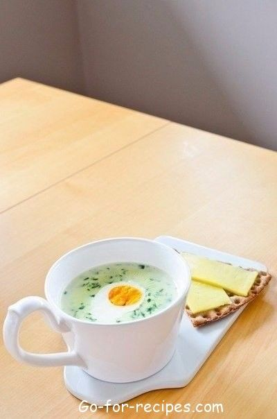 FINNISH SPINACH SOUP