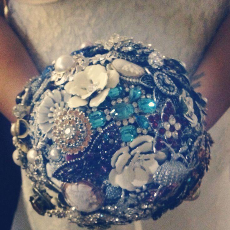 Brooch bouquet from a friends wedding