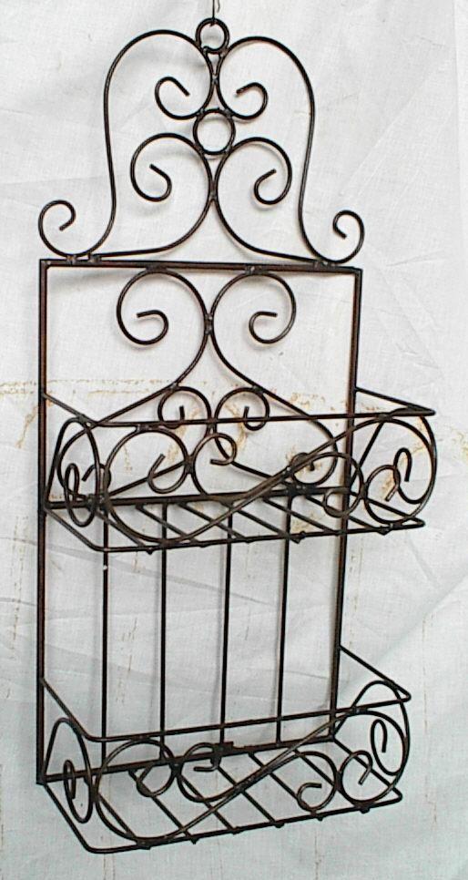 glamorous wrought iron kitchen wall shelves | 30 best Wall Shelves images on Pinterest | Wall shelving ...