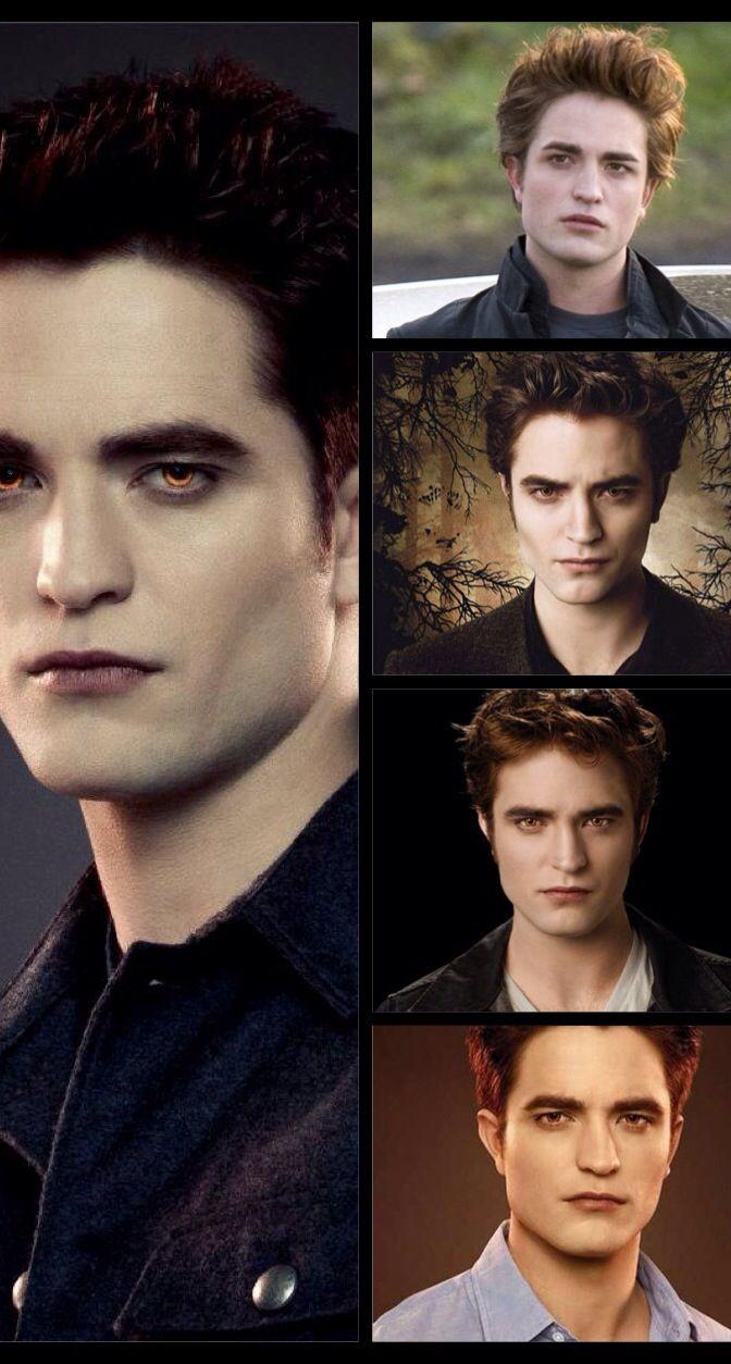 Robert Pattinson as Edward Cullen's