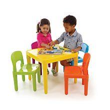 Tot tutors plastic table and 4 chairs set plastic tables - Set table plastique ...