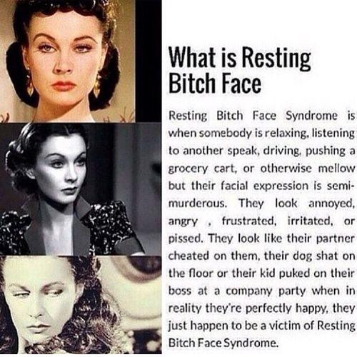 Hidup dengan 'Bitchy-Resting-Face'