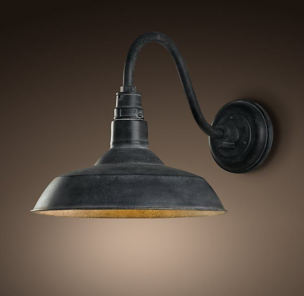 Vintage Barn Sconce Barn Lighting Farmhouse Light Fixtures Vintage Wall Lights