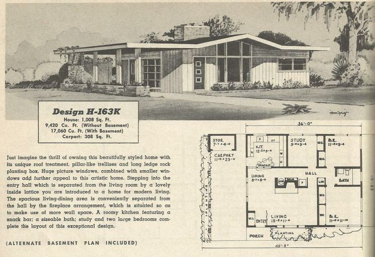 30 prize-winning homes : 1950 | VinTagE HOUSE PlanS~1950s ...
