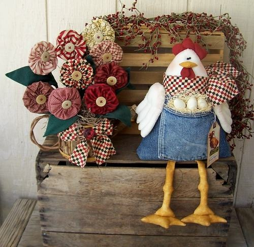 """The spring Chicken"" by Vintage Keepsake Trunk on Etsy"