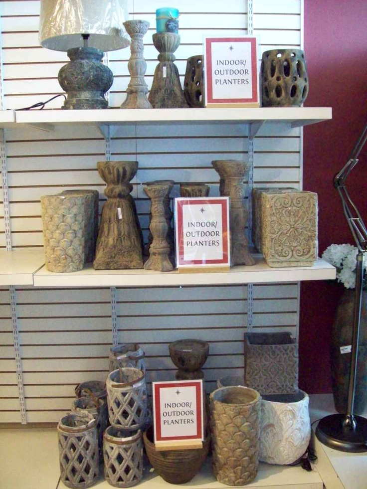 More of our new indoor/outdoor pottery collection arriving in stores now!