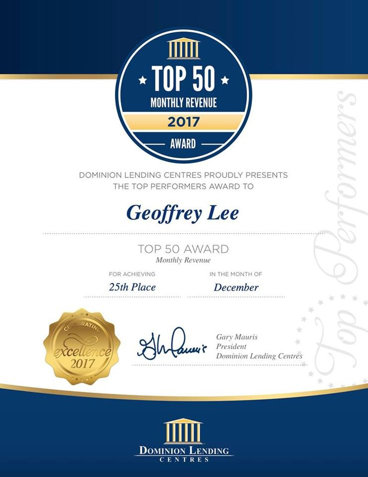 A proud moment for us at GLM! | GLM Mortgage Group