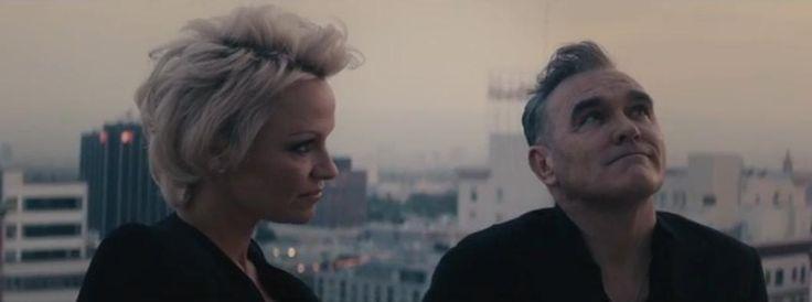 Watch Morrissey's new spoken word video feat...Pam Anderson #morrissey