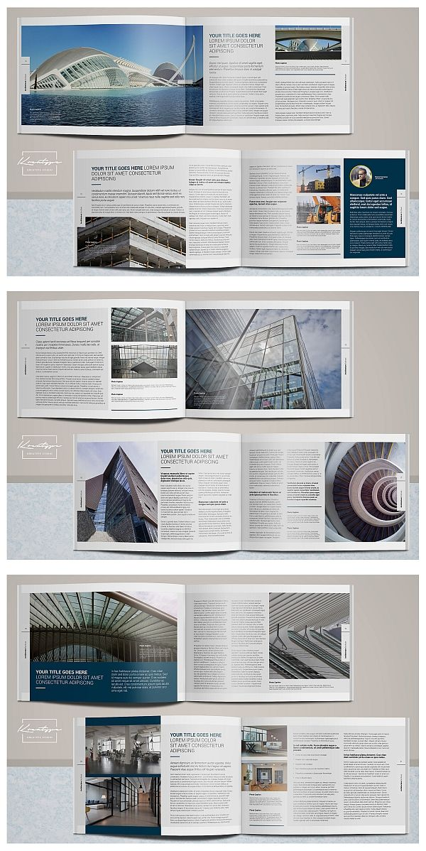 Kreatype Architecture Brochure Brochure Templates Pinterest