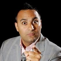 """Somebody's gunna get hurt real bad , And it ain't gunna be me!"" Canadian comedian Russell Peters has ADHD."
