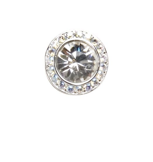 The perfect earring for your perfect day. MADE WITH SWAROVSKI ELEMENTS. 6035-E2