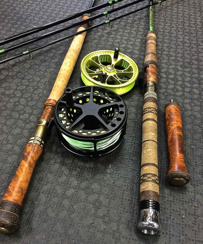 Rod Building Supplies, Custom Rod Building & Rod Repairs - The First Cast - Hook, Line and Sinker's Fly Fishing Shop