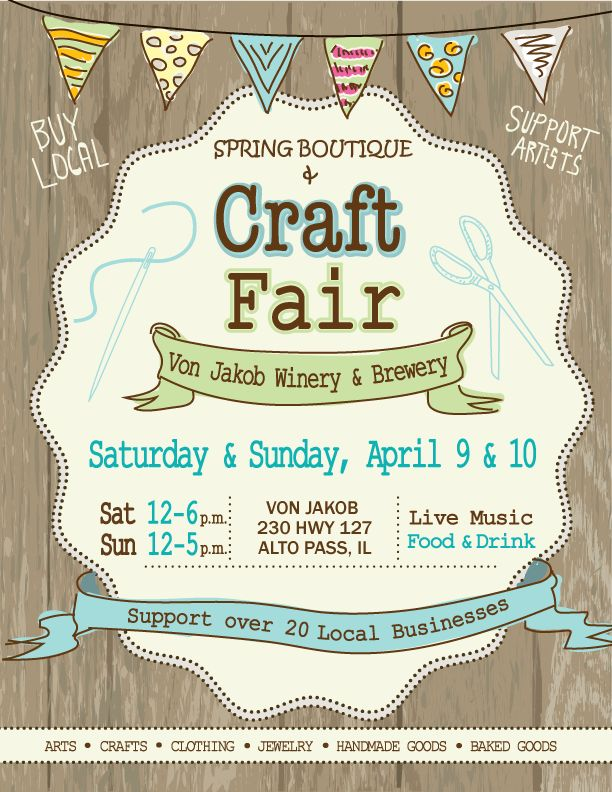 Calendar Art Fairs : Best craft fair images on pinterest invitations