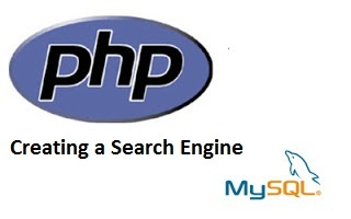 how to create a search in php