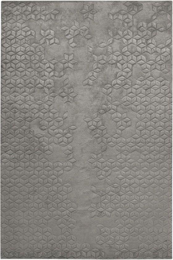 The Rug Company, Star Silk, Charcoal area rug