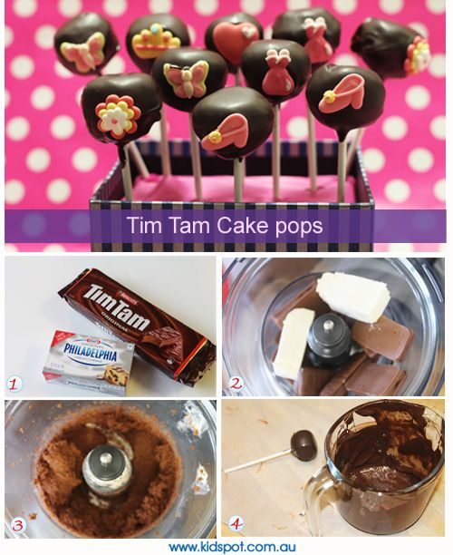 Tim Tam cake pops recipe - Biscuits and cookies recipes