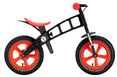 FirstBIKE™ is designed and produced to be the best, safest balance bike for kids. After years of fine-tuning and testing, the result is an unparalleled product that is not only the safest on the market in terms of protecting a child's physical development (posture, spine, and bones), but also in terms of supporting the development of a child's self-confidence, sense of independence, and enjoyment of learning.