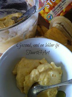 Snel gezond ijs maken, mangoijs, chocoladeijs, bosvruchtenijs of gebruik de basis voor een eigen smaak!