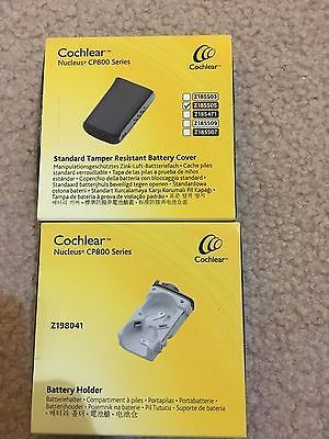 Other Multipurpose Batteries: Cochlear Nucleus 6 Battery Holder And Tamper Resistant Cover BUY IT NOW ONLY: $200.0