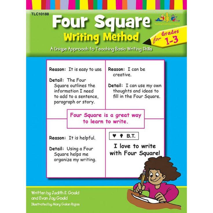 Four Square Writing Method Grade 1 - 3 Book