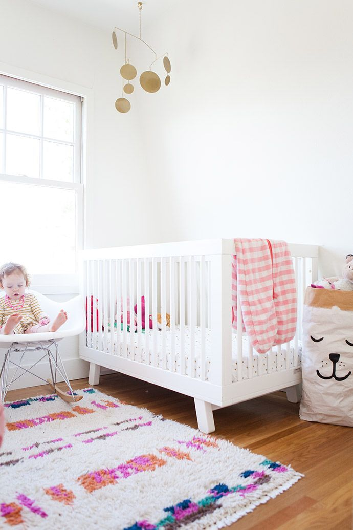 Pops of color in the nursery