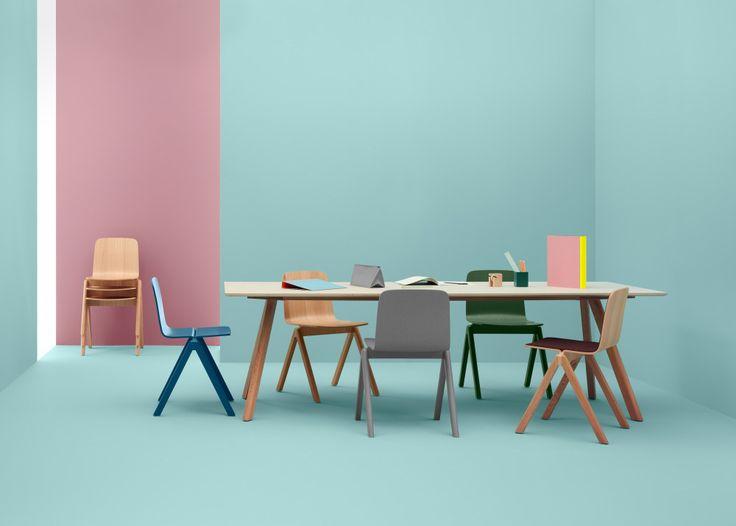 Chaise copenhague hay trentotto mobilier design toulouse