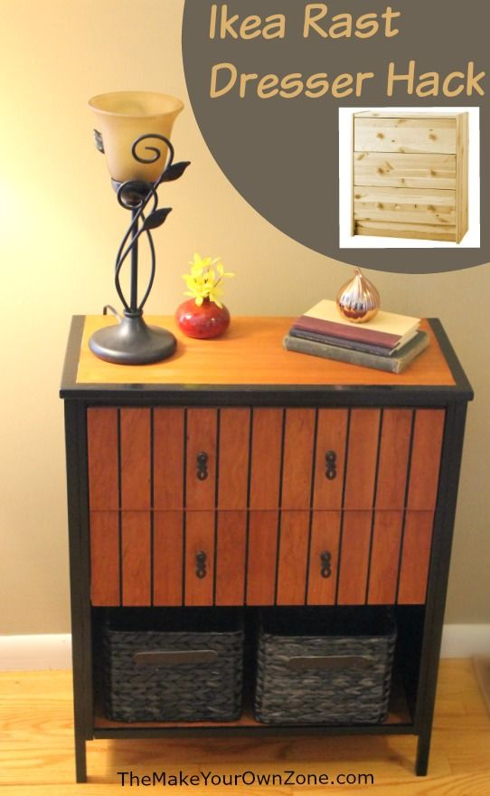 Ikea rast dresser hack mesas stains and foyer tables for Ikea free couch giveaway