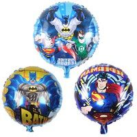 Wish | 3pcs/lot superman /batman Mylar balloon For Party helium balloon Toy