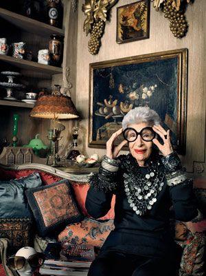 superhypermost: Rare Bird of Fashion - Iris Apfel