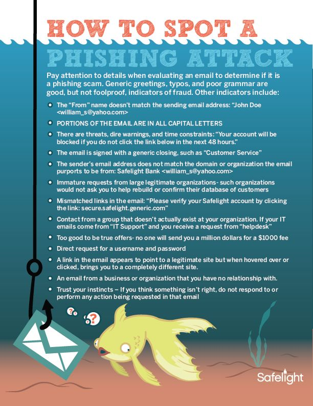 How To Spot A Phishing Attack Security Awareness Tip