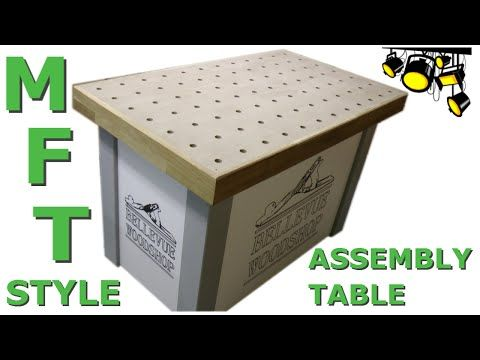 MFT style assembly table - YouTube