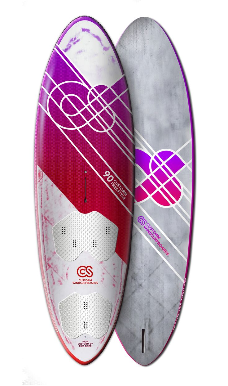 Surfboard Design for Custorm  Freestyle Windsurfboard 90L
