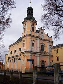 Chrám sv. Josefa / obořiště / K. Dienzenhofer