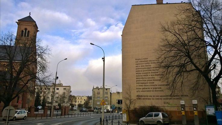 poetyckie Jeżyce, przydałby się mural ku pamięci Barańczaka!
