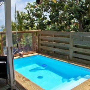 Les 25 meilleures id es concernant mini piscine sur pinterest petits bassin - Mini piscine terrasse ...