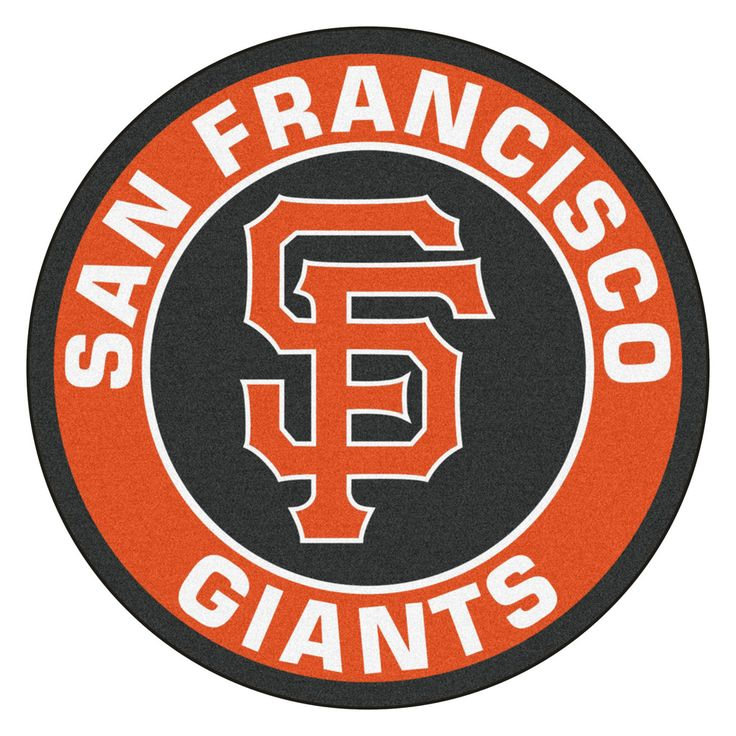 San Francisco Giants Team Emblem Throw Rug
