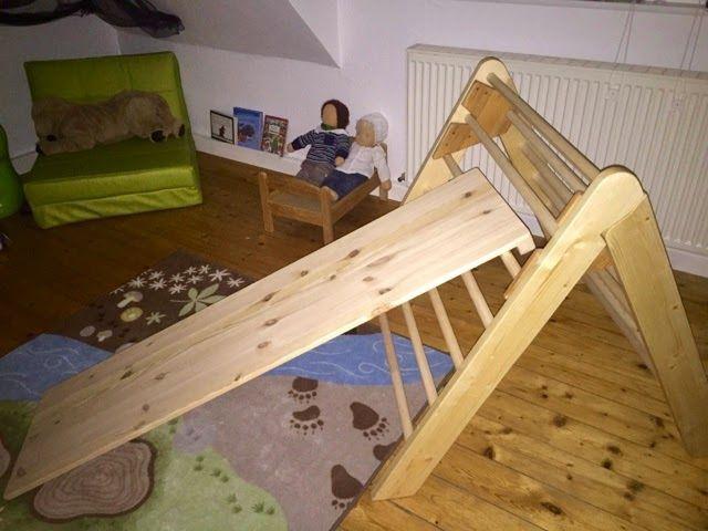 Pikler Klettergerüst : Dreiecksständer baby diy for kids und
