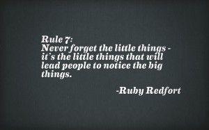ruby redfort rule 7