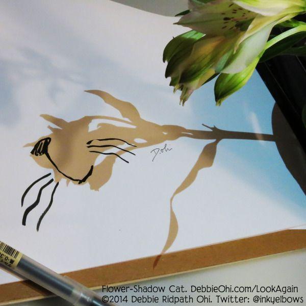 Shadow CatDoodle - Debbie Ridpath Ohi - Debbie Ridpath Ohi (Twitter: @inkyelbows)