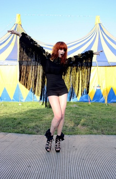 Leotards - like Florence Welch.
