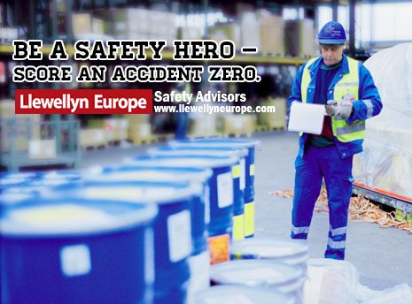 Be a safety hero.