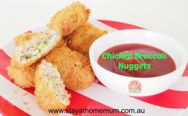 Chicken Broccoli Nuggets | Stay at Home Mum
