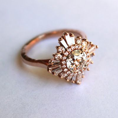 Wedding Inspirations | Vintage Inspired Engagement Rings | UBetts Rental & Design