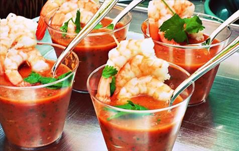 Try this frozen shrimp recipe for a delicious appetizer at your next summer get-together by Cool Food Panelist Estela Schnelle, RD from Weeklybite