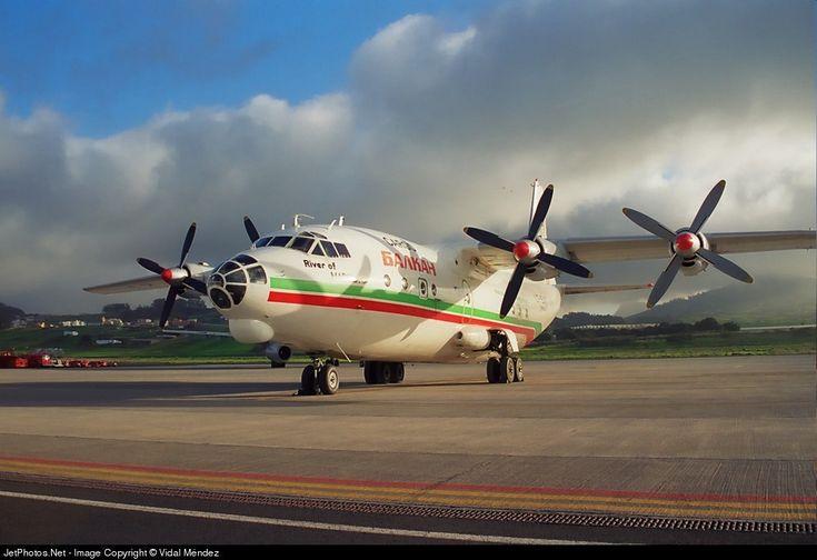 Balkan Cargo Antonov An-12B LZ-BAF 402408 Tenerife Norte-Los Rodeos - GCXO