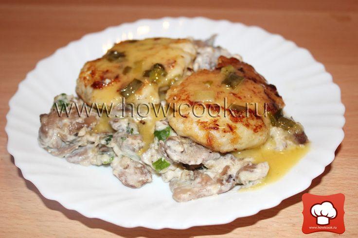 Мусслины из рыбы под белым масляным соусом от Джулии Чайлд