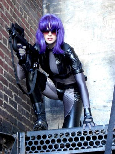 Ghost in the Shell GiTS SAC outfit shot 5 by *AmazonMandy on deviantART; Costumes & Cosplay