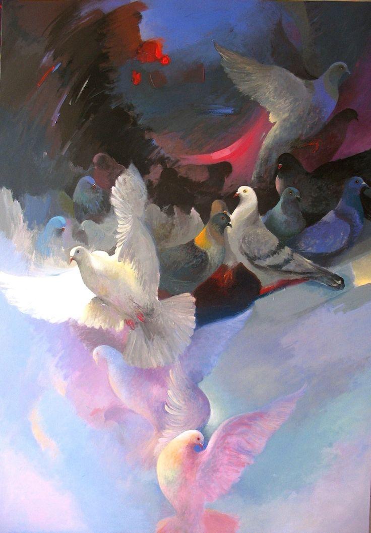 Kadir Şişginoğlu güvercin düşleri