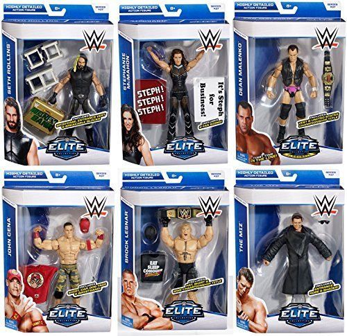 WWE ELITE SERIES 37 WRESTLING ACTION FIGURE COLLECTION WRESTLERS ACCESSORIES WWF in Toys & Games, Action Figures, Sports   eBay
